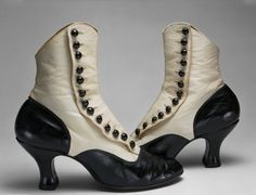 Edwardian spat boots