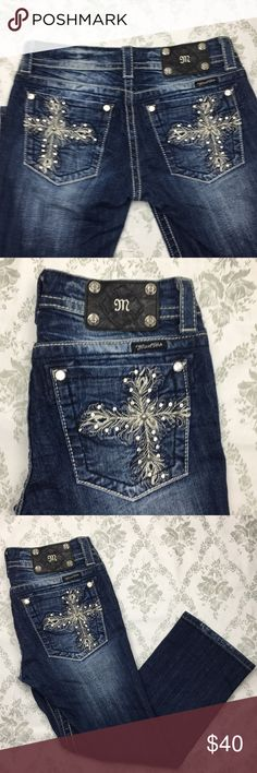 Miss me capri jeans Sz 27 x 25 Barely used in excellent condition Miss Me Jeans