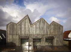 Kaap Skil, maritime and beachcombers museum  Oudeschild, Texel, Netherlands  by Mecanoo Architecten.