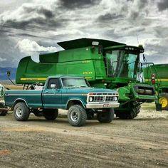 1979 Ford Truck, Old Ford Trucks, Big Tractors, Classic Ford Trucks, Old Fords, Cool Trucks, 4x4, Monster Trucks, Vehicles