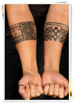 Forearm Band Tattoos for Guys picture is a part of Forearm Tattoos for Guys gallery. If you like this photo take a look at some more tattoos. Hand Tattoos, Tribal Forearm Tattoos, Forearm Tattoo Design, Spine Tattoos, Trendy Tattoos, Tattoos For Guys, Tattoos For Women, Polynesian Tattoo Designs, Maori Tattoo Designs
