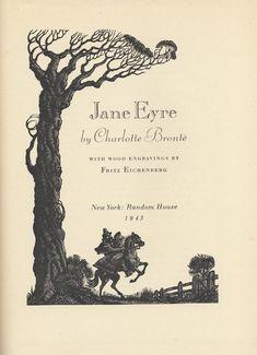 Old Edition of Jane Eyre Should Be New Again « ShelfTalker - Illust: Fritz Eichenberg