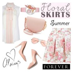 The Perfect Summer Floral Skirt: Contest Entry by katyusha-kis on Polyvore featuring polyvore moda style Chloé Miss Selfridge M. Gemi Sophie Hulme J.Crew fashion clothing Pink contestentry Floralskirts