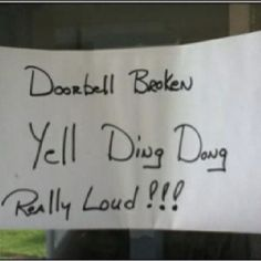 I should do this at my house I wonder if anyone would actually do it lol
