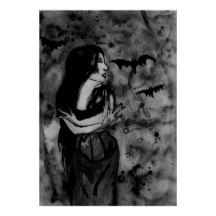 Check out all of the amazing designs that Fairychamber has created for your Zazzle products. Make one-of-a-kind gifts with these designs! Original Paintings, Original Art, Gothic Fantasy Art, Demon Girl, Black White Art, Green Print, Wall Art Decor, Art Prints, Death