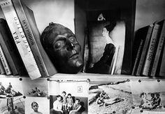 Dans l'atelier de Moïse Kisling, Paris (André Kertész)