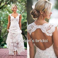 Romantic-Bohemian-Wedding-Dress-Deep-V-Neck-Backless-Bridal-Dresses-Gowns-Custom