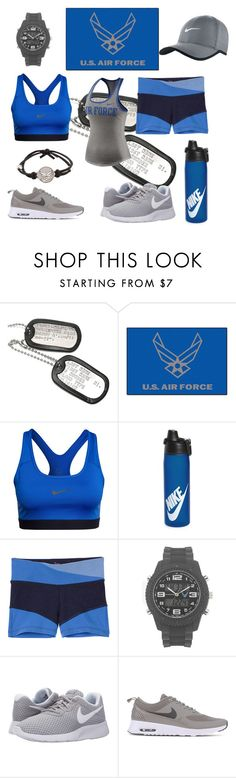 """Aim High"" by dpmadi-k ❤ liked on Polyvore featuring FANMATS, NIKE, Victoria's Secret and Wrist Armor"