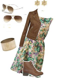 """Winter to Spring outfit!"" by rachelmitchell-1 on Polyvore"