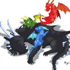 I didn't draw this but I love it! No wonder Shruikan is so grumpy. Shruikan is from the Inheritance Cycle, a book series. Dragon Eye, Baby Dragon, Dragon Wolf, Eragon Saphira, Inheritance Cycle, Christopher Paolini, Got Dragons, Dragon Rider, Fantasy Dragon