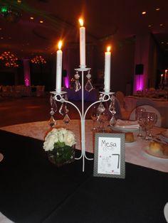 centro de mesa candelabro