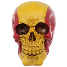 #spanish #skull PRICE £9.49 A Cool Spanish Skull Ornament made from resin. Dimensions: Height 11.5cm Width 9.5cm Depth 13.5cm. See more on our website!
