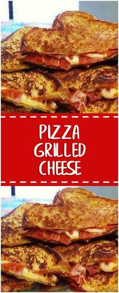 Pizza Grilled Cheese – Fresh Family Recipes
