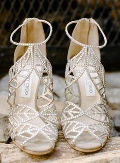 Wedding shoes idea; Featured Photographer: Rebecca Yale Photography
