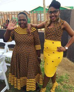 Seshweshwe Dresses, African Maxi Dresses, Latest African Fashion Dresses, African Print Fashion, African Attire, African Prints, Sepedi Traditional Dresses, Traditional African Clothing, Africa Dress