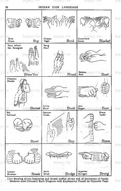 how to learn indian sign language fast and easy