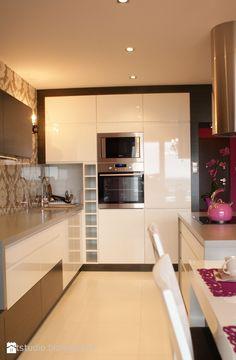 Kuchnia - Styl Glamour - Art Studio Pracownia Architektury i Wnetrz