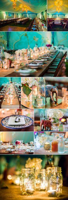 #indian #pakistani inspired table setting - California Weddings At: http://www.FresnoWeddings.Net/