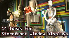 14 Ideas for Storefront Window Displays - March 1, 2016, 7:01 pm at http://feedproxy.google.com/~r/SmallBusinessTrends/~3/bE8AmKfGDrY/storefront-window-displays.html Even if you are on the right track, You'll get run over if you just sit there. – Will Rogers