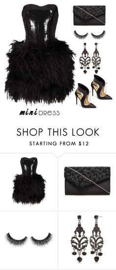 """""""Holiday Dress"""" by im-karla-with-a-k ❤ liked on Polyvore featuring Lillie Rubin, Kim Rogers and Christian Louboutin"""