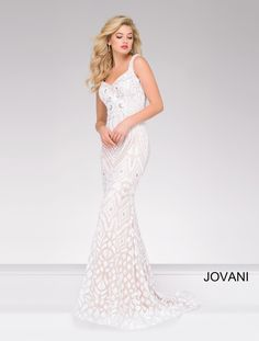8cd08b2486 47963. Prom Dresses JovaniBeaded ...