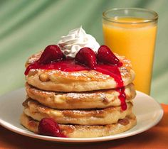 IHOP ♥ I love thier newyork strawberry cheesecake pancakes