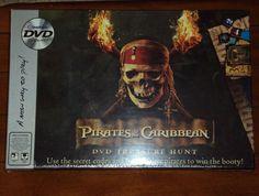 Disney Pirates of the Caribbean DVD Treasure Hunt Family Board Game 6+ Sealed  #Imagination