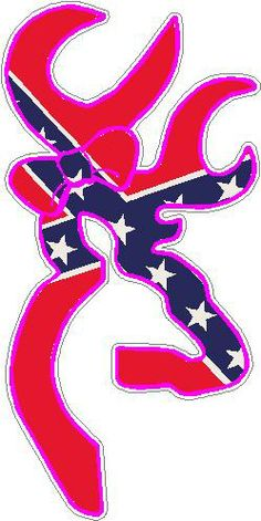 browning buck and doe tattoos | Browning Buck And Doe Decal Rebel Flag Pictures
