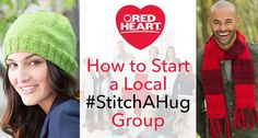 How to Start a Local Group Knitting For Charity, Hug, Crochet Hats, Stitch, Group, Sewing, Heart, Knitting Hats, Full Stop