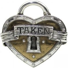 This great and awesome Taken Heart Boutique Belt Buckle is made from top quality materials.