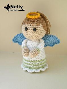 вязаный ангел схема