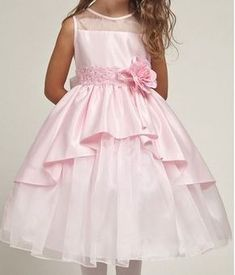 Patrón vestido de fiesta para niñas