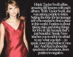 Each album is a life lesson.