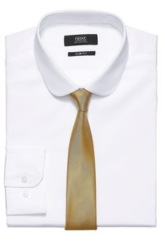 Weißes Hemd, Regular-Fit normale Passform, mit abgerundetem Kragen  100 % Baumwolle....