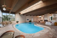Check out the home I found in Santa Fe Pool Bedroom, Dream Bedroom, Bedroom Ideas, Bedroom Decor, Amazing Houses, Indoor Swimming Pools, Sleep Tight, Cool Rooms, Santa Fe