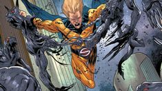 Jeff Lemire and Kim Jacinto usher in the return of the Sentry, one of the Marvel Universe's most powerful superheroes, in SENTRY Marvel Art, Marvel Heroes, Marvel Comics, Avengers Universe, Comics Universe, Sentry Marvel, Comic Book Artists, Comic Books, Comic Panels