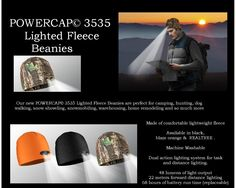 Lighted Beanies #Camping #Hunting Love'em
