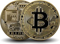 Bitcoin 24 Karat Gold Plated Coin