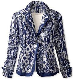 ShopStyle: Ikat printed jacket