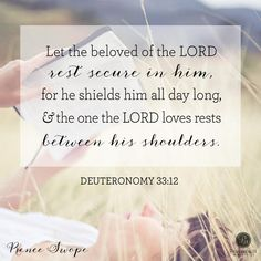 Deuteronomy 33:12