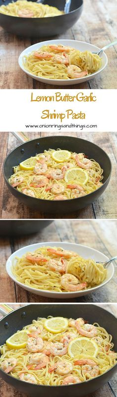 With silky linguine noodles and plump shrimps drenched in buttery, garlicky and lemony flavors, this lemon butter garlic shrimp pasta make a refreshing yet satisfying meal (scheduled via http://www.tailwindapp.com?utm_source=pinterest&utm_medium=twpin&utm_content=post61983088&utm_campaign=scheduler_attribution)