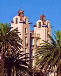 Ex Parque Hotel y actual edificio Mercosur