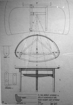 Finn Juhl chair drawing
