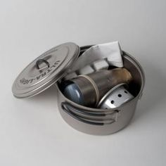 Ultimate lightweight camping stove that can use 3 different fuels!