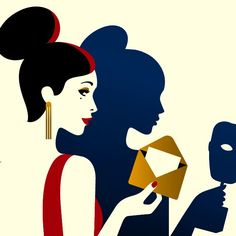 Malika Favre: BAFTA 2015 poster detail