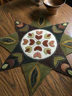 Star wooly mat