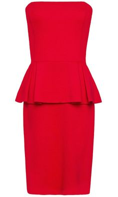 Váy đỏ thời trang
