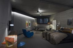 More than 50 artists, designers and makers were enlisted to help design the eclectic interior of this hotel in Canberra, overseen by Fender Katsalidis Architects and Suppose Design Office