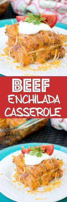 Beef Enchilada Casse