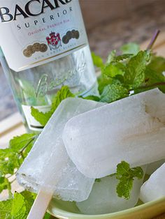 Mojito Popsicles from The Cuban Reuben featured on Woman's Day!!